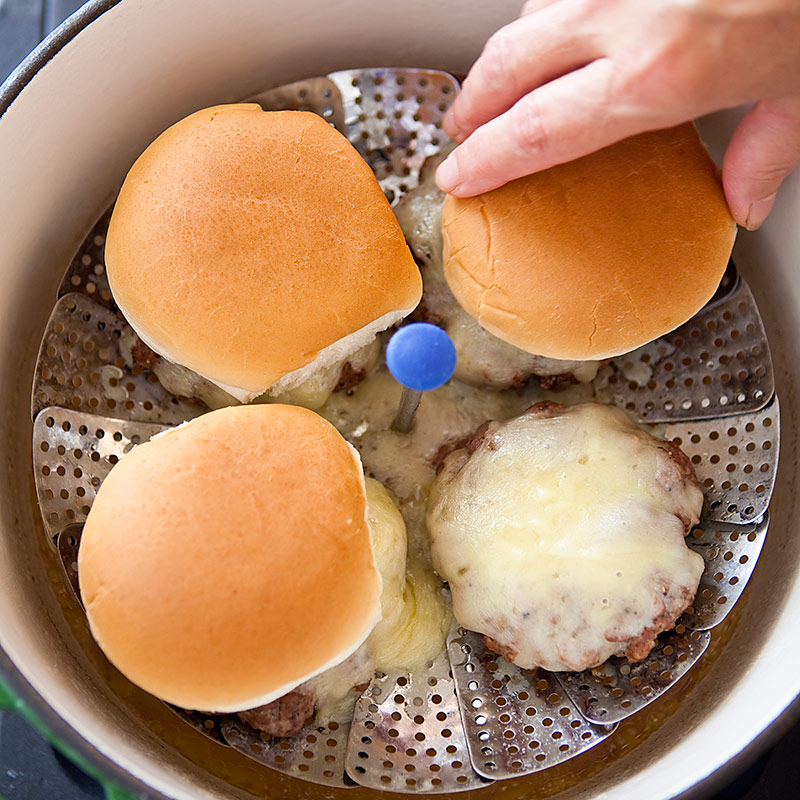 Connecticut Steamed Cheeseburgers Cooks Country