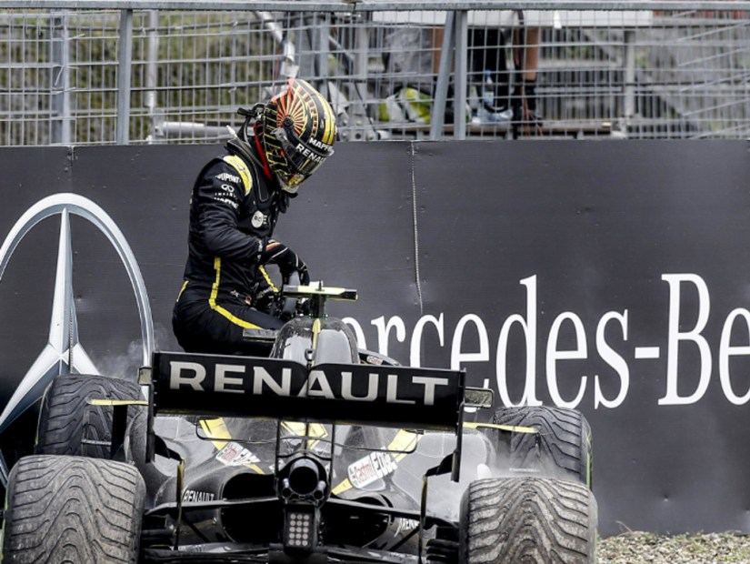 Nico Hulkenberg still 'stinging' over German DNF
