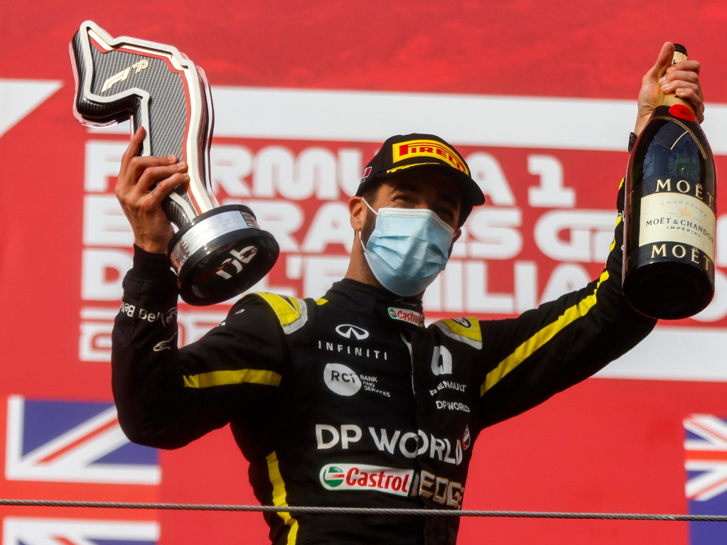 Montreal's stroll seventh f1 title rivals max verstappen and lewis hamilton crashed out, with verstappen's car landing just above hamilton's head. Daniel Ricciardo Is Standalone Second Tier Driver Planetf1