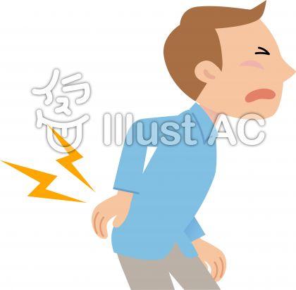「腰痛や肩こり フリー素材」の画像検索結果