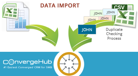 data import in convergehub