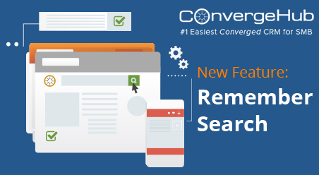 Remember Search features launch for ConvergeHub