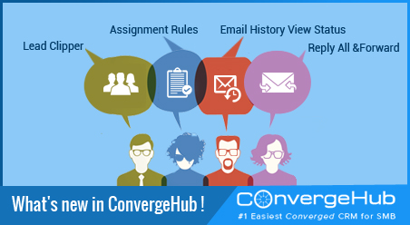 What's new in ConvergeHub (Release Update on 19th February 2016)