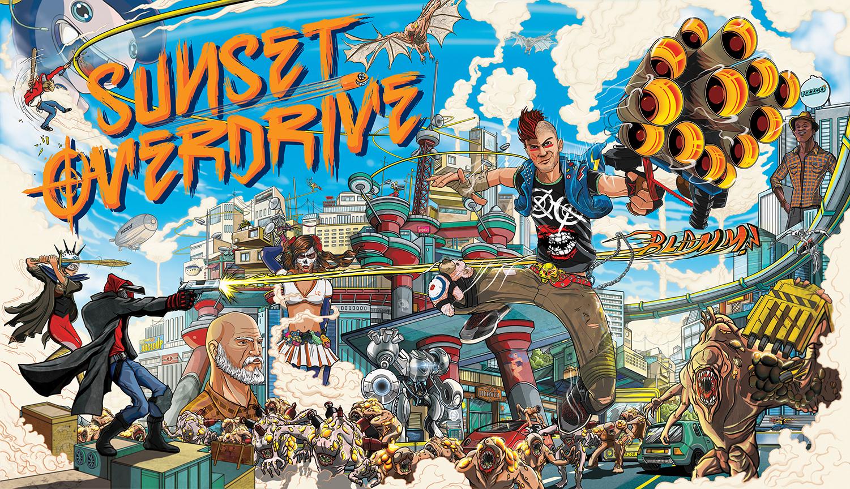 Poster do filme Sunset Overdrive - O Filme