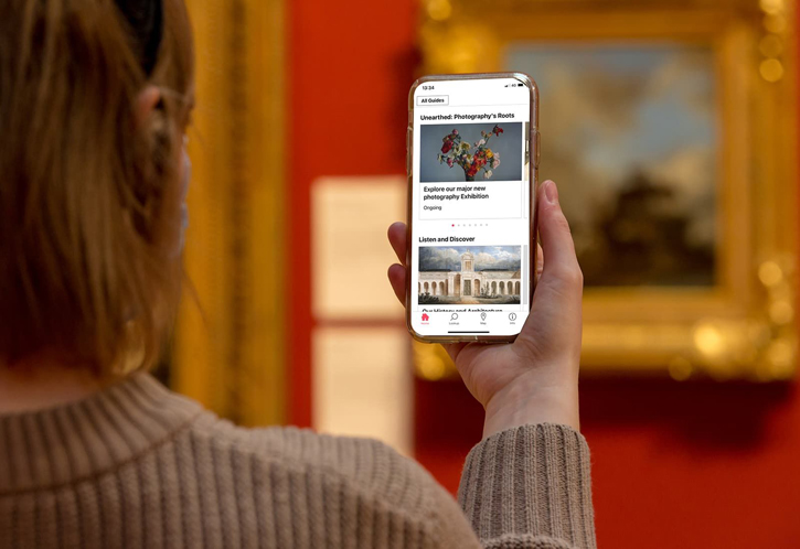 L'application Bloomberg Connects à Dulwich Picture Gallery