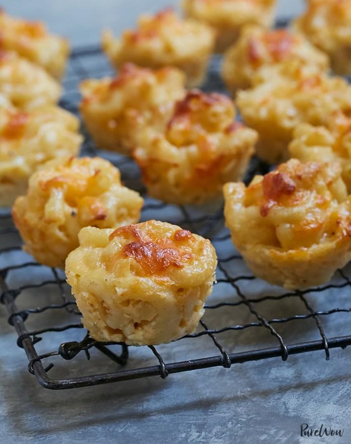 Baked Mac And Cheese Bites Recipe Purewow