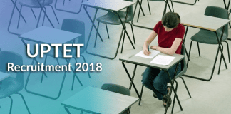 UPTET Recruitment 2018