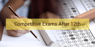 Competitive Exams After 12th