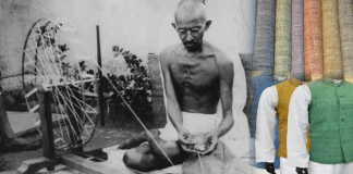 Gandhi and Khadi