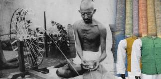 Gandhi and Khadi