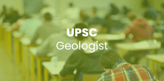 UPSC Geologist Recruitment 2018