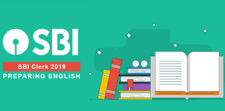 Prepare English for SBI Clerk 2019