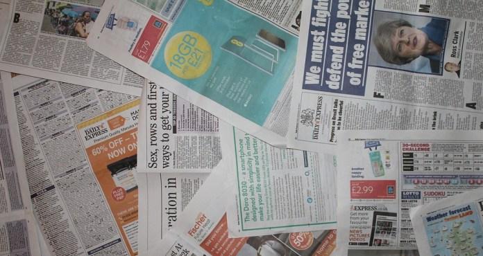 Newspaper for GK