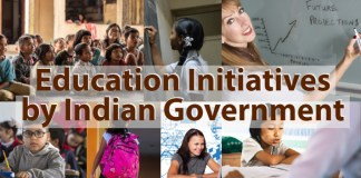 Education initiatives by Indian Government