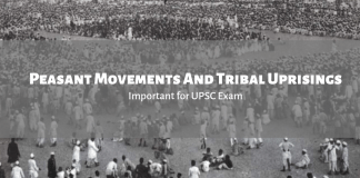 Peasant Movements And Tribal Uprisings