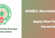 APSBCL Recruitment 2019
