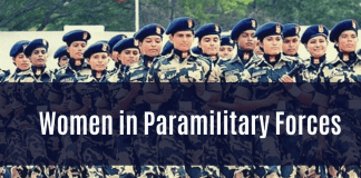 Women in Indian Paramilitary