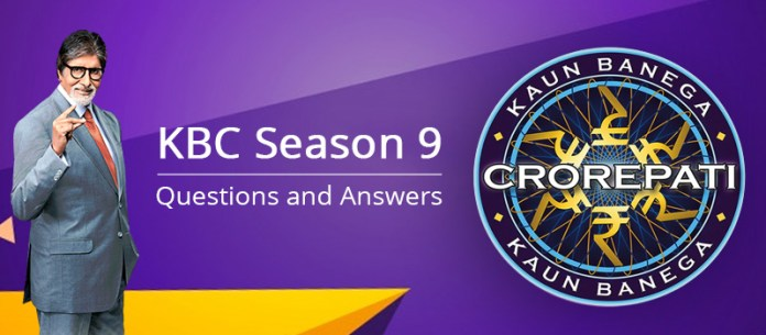 KBC questions answers