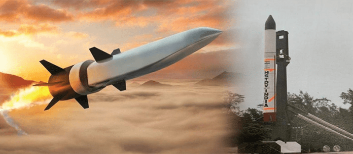 Indian hypersonic missile test