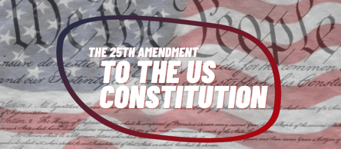 US Constitution 25th Amendment