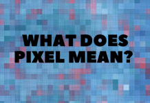 What Does Pixel Mean