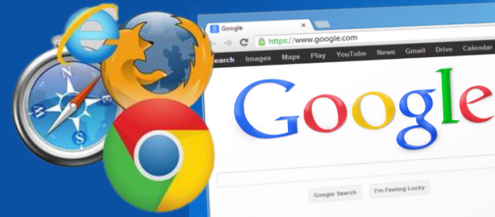 web browser vs search engine