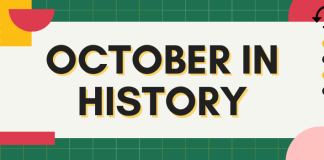 October in history