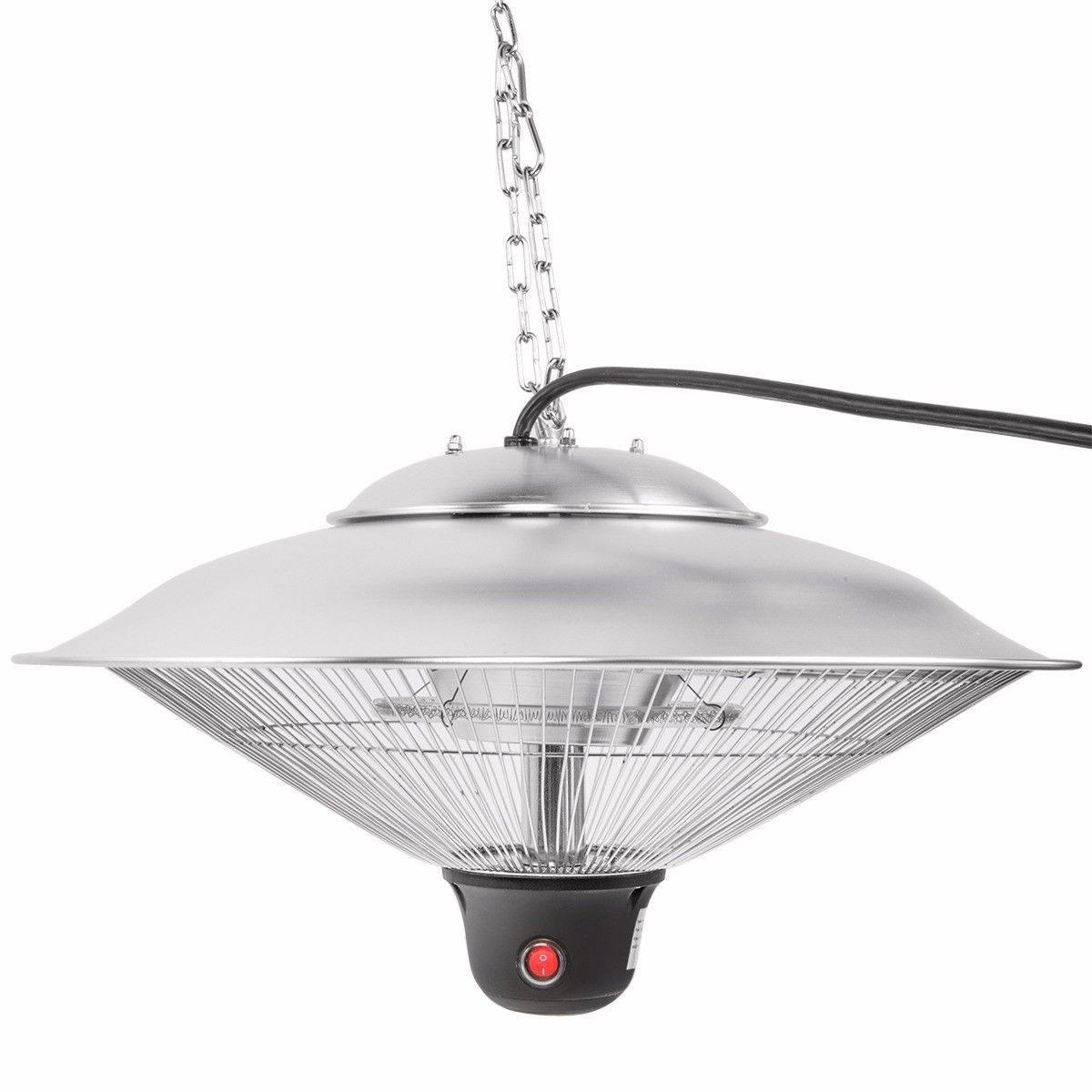 """20"""" Electric Patio Infrared Outdoor Ceiling Heater Indoor ... on Indoor Non Electric Heaters id=48441"""