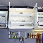 Details About Pull Down 2 Tier Wire Shelf Shelves Wall Cabinet Storage For Kitchen Bar Room