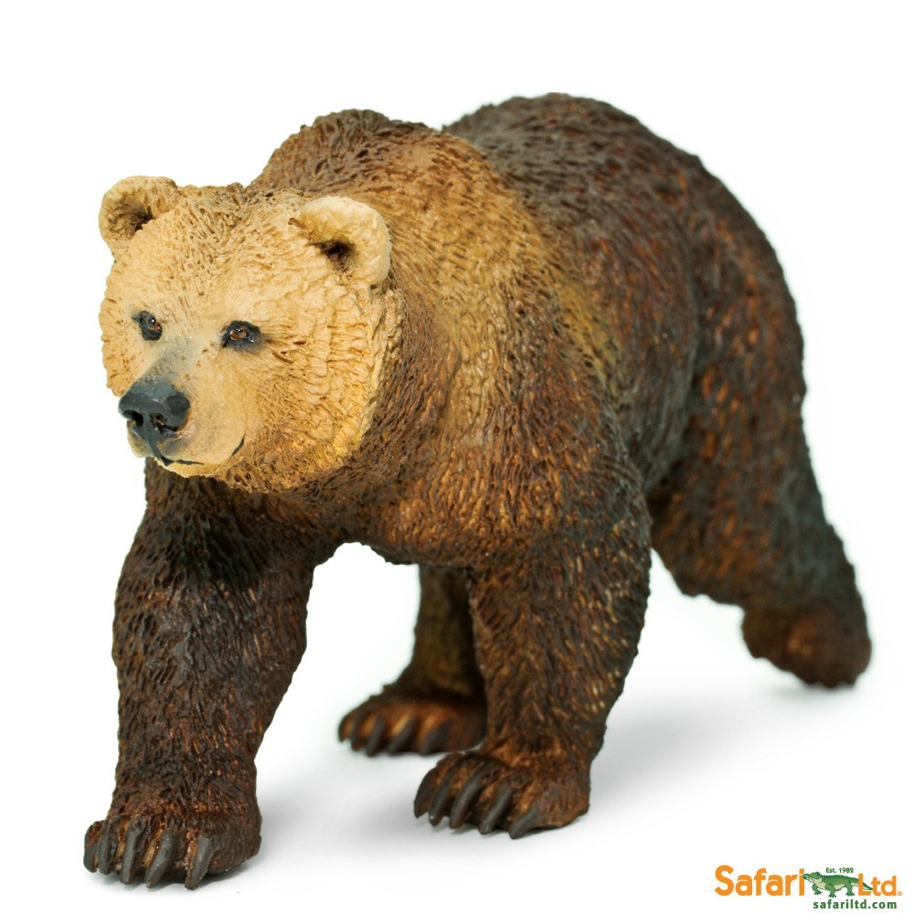 Safari Ltd Wild Safari North American Wildlife Grizzly