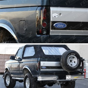 {SINISTER BLACK} LR Tail Light Lamp Assembly FORD 1989