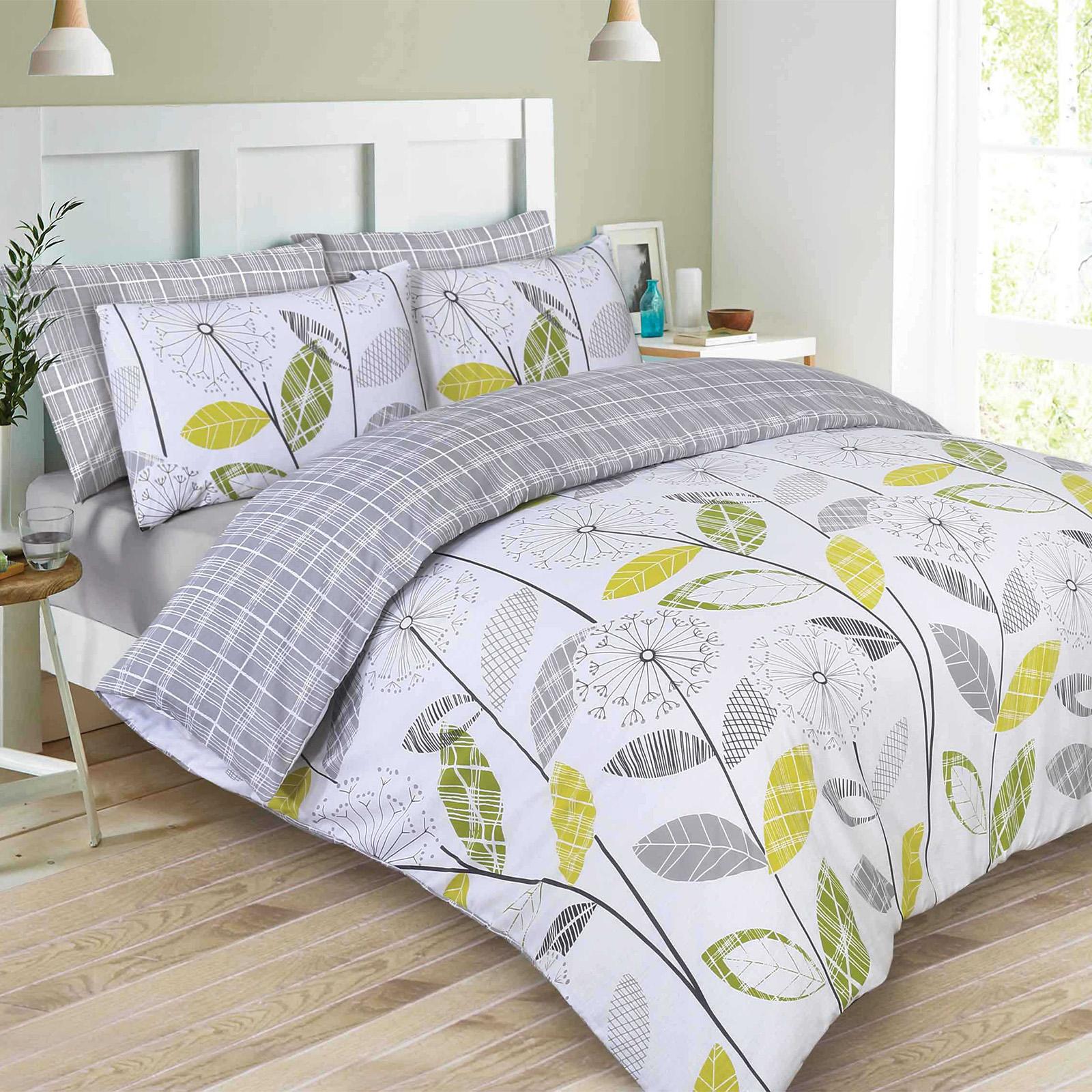Dreamscene Duvet Cover With Pillowcase Polycotton Bedding