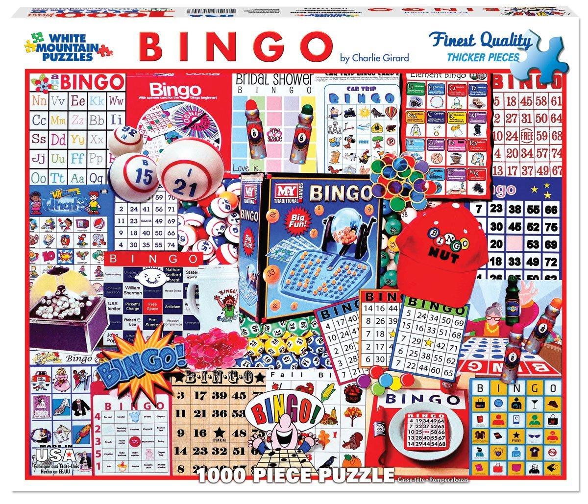 White Mountain Puzzles Bingo Collage
