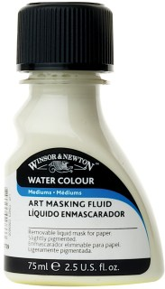 Watercolor masking fluid from Winsor & Newton