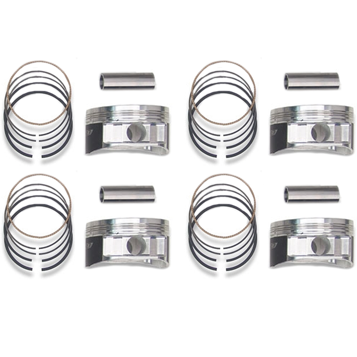 Manley 99 5mm Grade B Pistons With Rings Set Of 4 For 04