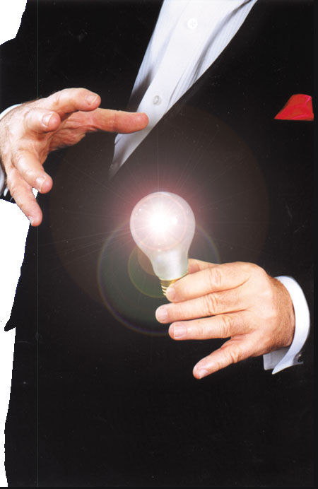 Uncle Fester Magic Light Bulb