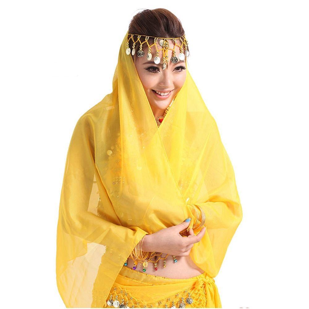 Girls Kid Belly Dancewear Dancing Costume Women Shawl Veil ...