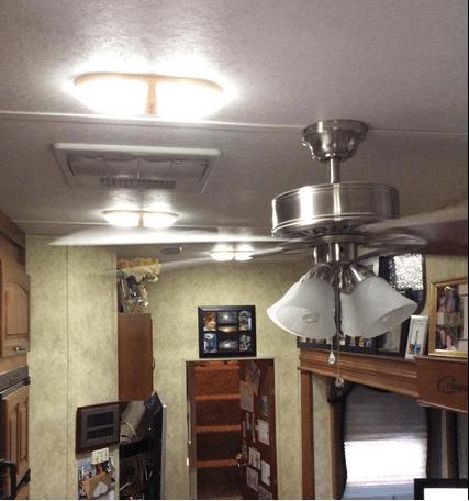Top 4x12V LED RV Ceiling Dome Light RV Interior Lighting