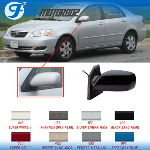 Painted Fit 0308 Toyota Corolla Power Driver Side Rear