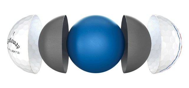 Callaway ERC Soft 21 Golf Balls Breakdown