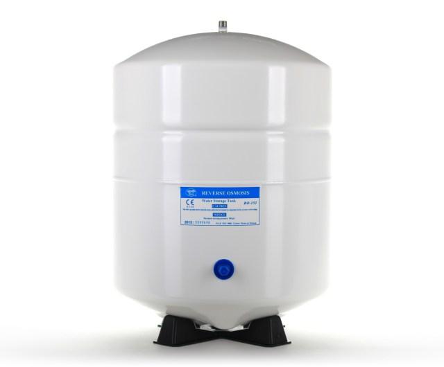 PA-E RO-152-W 6 Gallon (5.5 Draw-Down) Reverse Osmosis Water Tank - White, 1/4