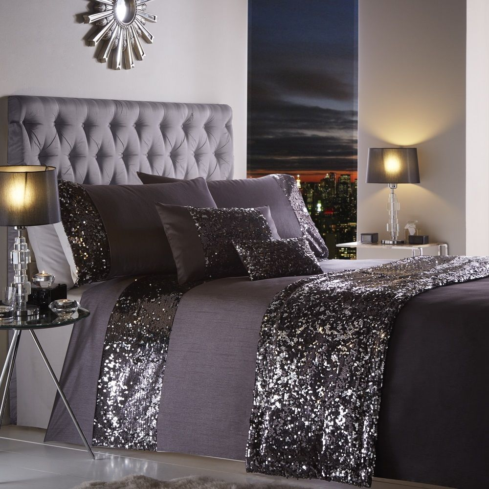 King Size Quilts Gray