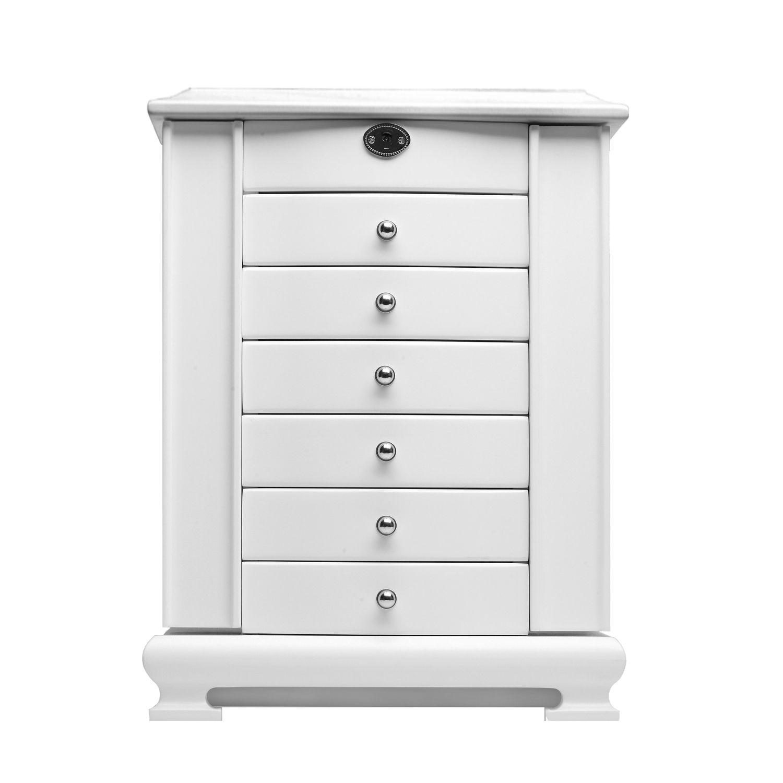 Drawers White Large Wardrobe