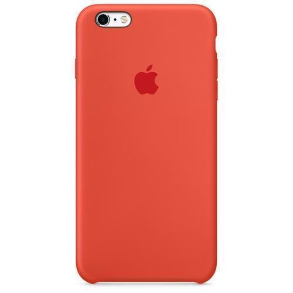 This Apple-designed case fits snugly over the volume buttons, Sleep/Wake button, and curves of iPhone 6s Plus or iPhone 6 Plus without adding bulk. The soft microfiber lining on the inside helps protect your iPhone. And on the outside, the silky, soft-touch finish of the silicone exterior feels great in your hand.