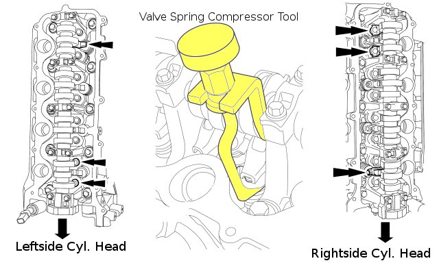 How To RemoveReplaceInspectInstall A Camshaft Phaser Sprocket – Lincoln Aviator 2004 Engine Diagram