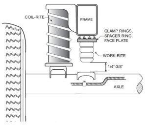 4190 Firestone Coil Rite Air Bags Kit Dodge Ram 1500 2009