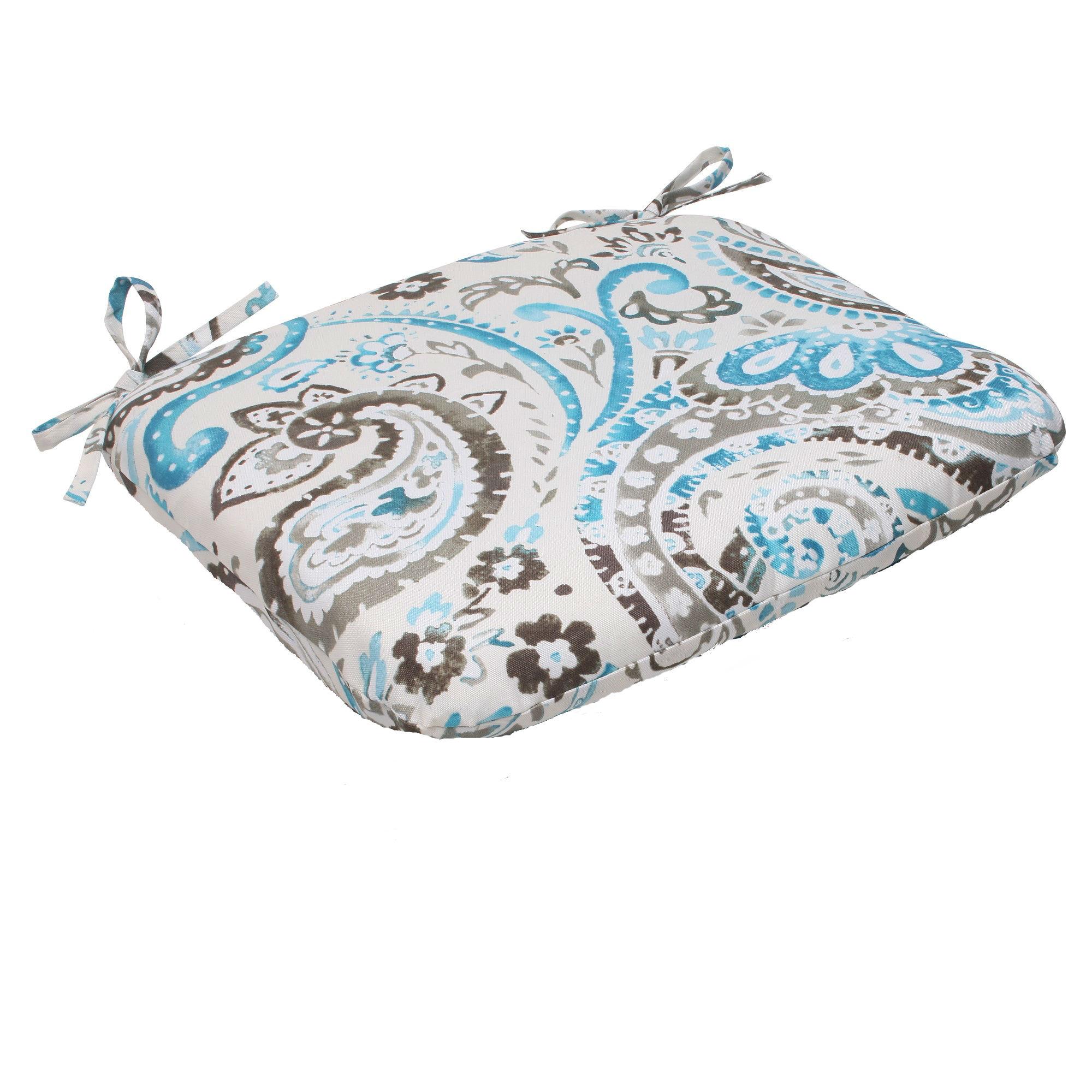 CC Outdoor Living Turquoise Gray Paisley Swirl Outdoor ... on Cc Outdoor Living id=16676