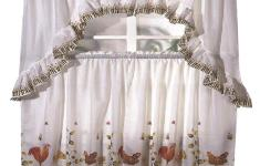Resourceful Rooster Kitchen Curtains That Will Make You Go Crazy