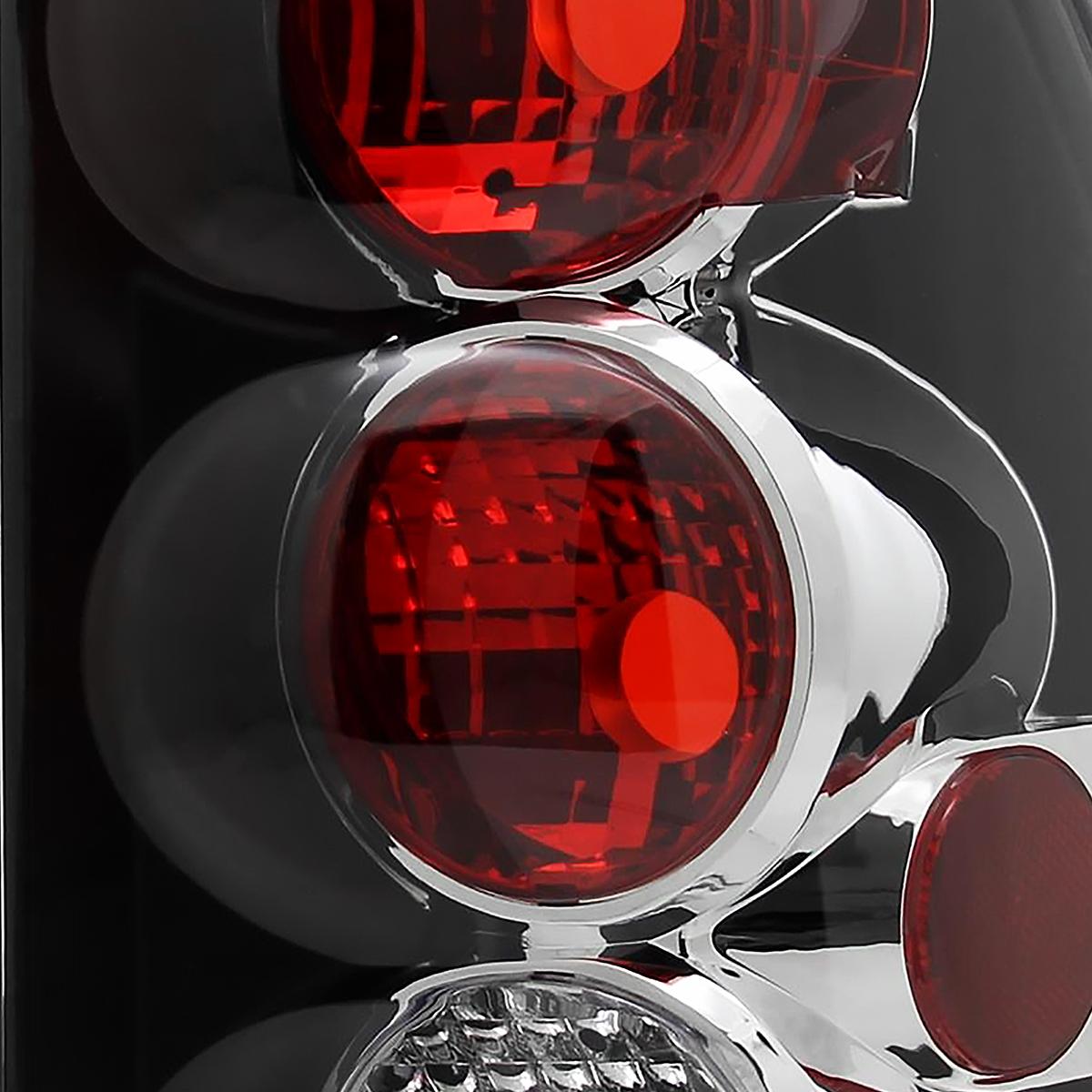 20022009 Chevy Trailblazer Black Tail Lights Brake Lamp | eBay