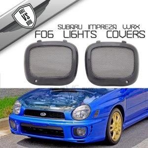 Fit For 20022003 Subaru Impreza WRX JDM Mesh Fog Lights